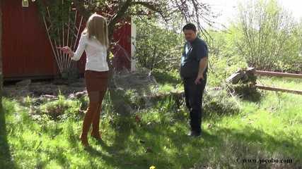 Vom Gärtner Misshandelt