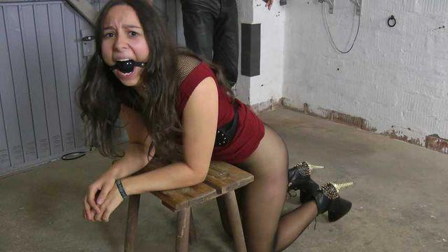 Punished slave girl Aiyana