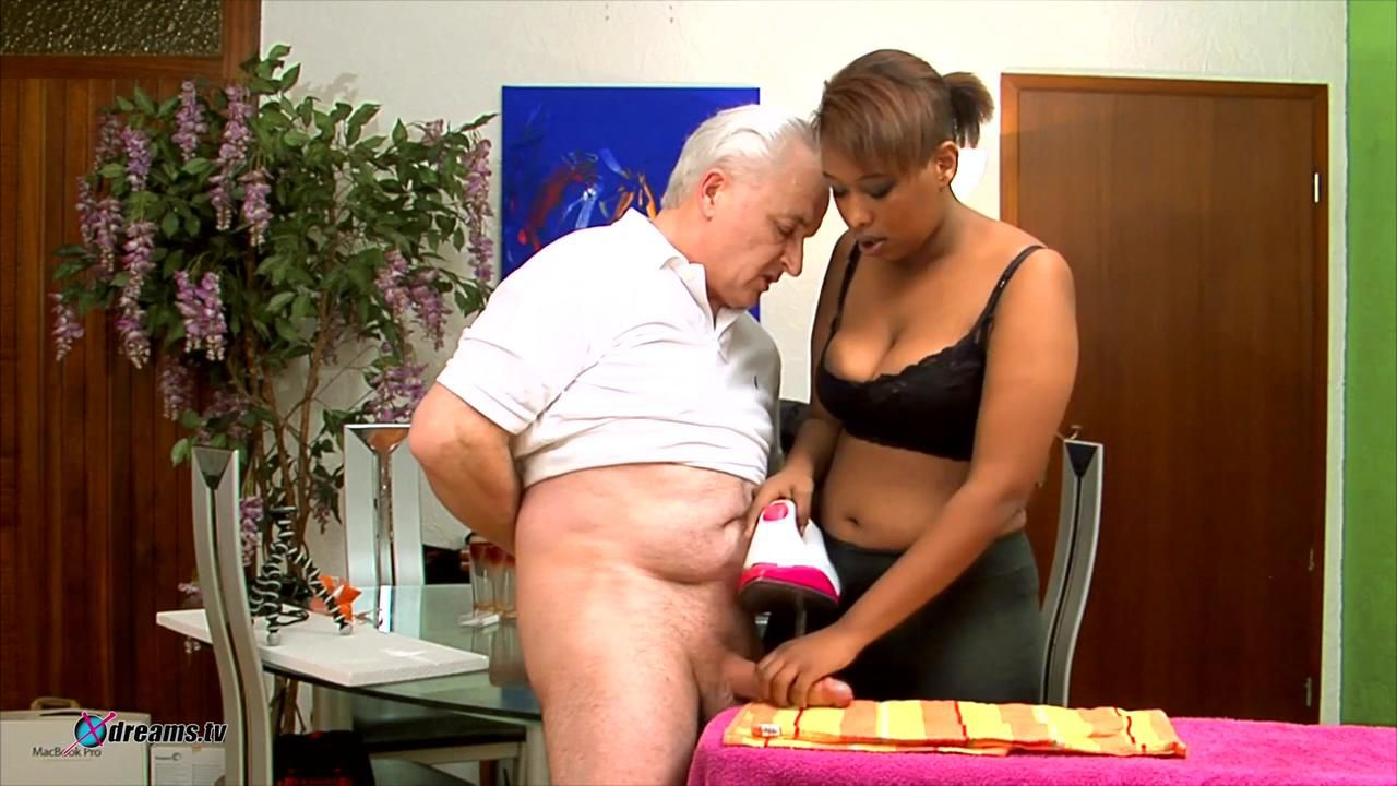 Cocco, Elder Man Ironing Pleasure