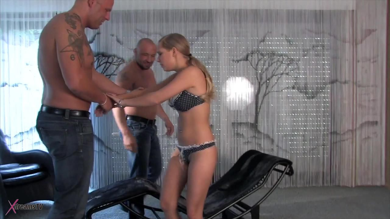 Lena Fucks Up Her Two Guys At Home