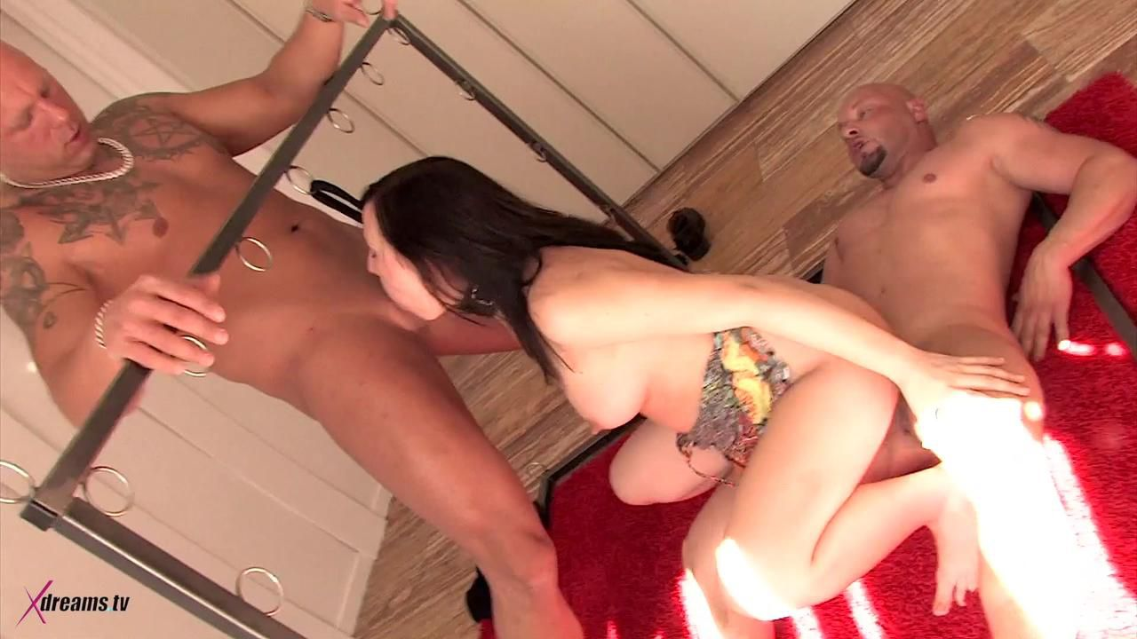 Olga's Threesome Bondage Sex Game