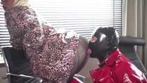 The Perverted Landlady Part 1: The Webcam Bitch