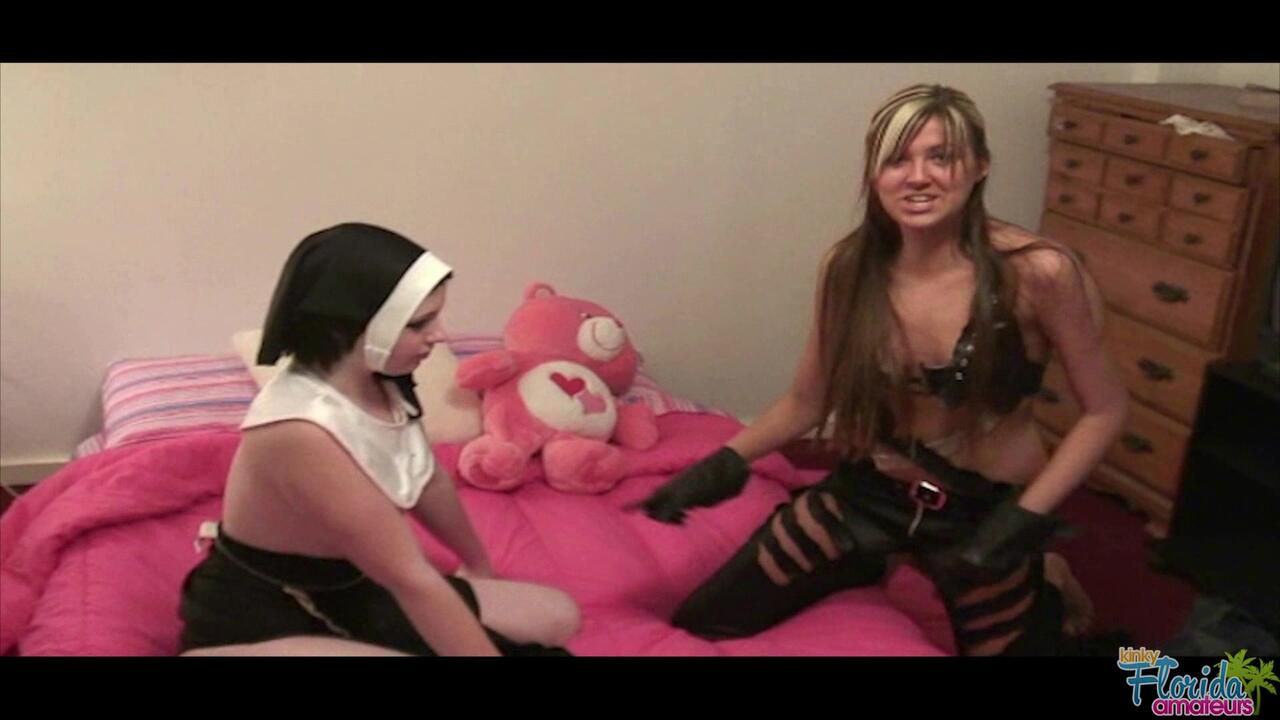 Kinky Florida Amateur Teen Barbie And Ashlee Playing Dress Up Part 2