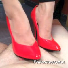 We just released a new update: Shoejob in Red Heels<br /><br />#Footjob #Highheels #Shoes<br /><br />#redshoes #highheels #shoejob #shoes #shoeandfootworship #cumonshoes<br /><br />Watch my red heels work his cock to a gooey cummy cumpletion!<br /><br />👉http://footsees.com/1061990248👈 #Shopmaker
