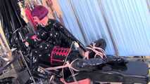 Mistress Tokyo - Heavy rubber pussy licking