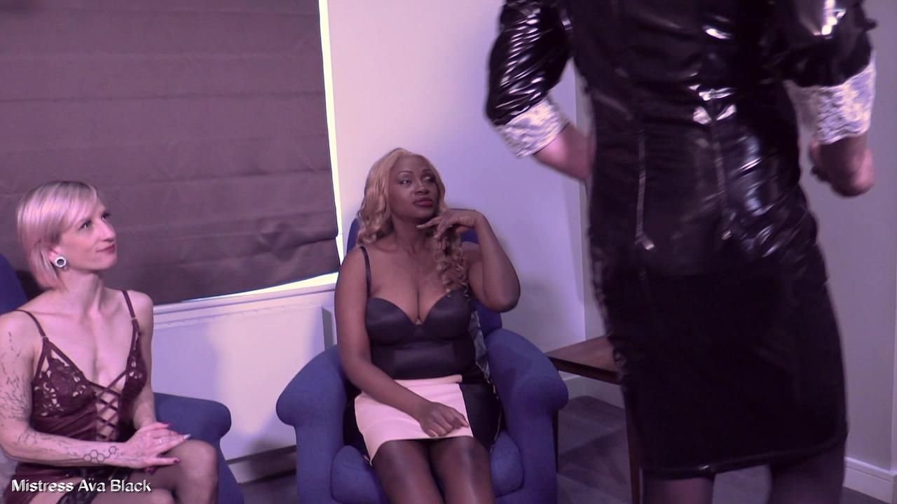 Training the sissy to be more convincing - Part Three
