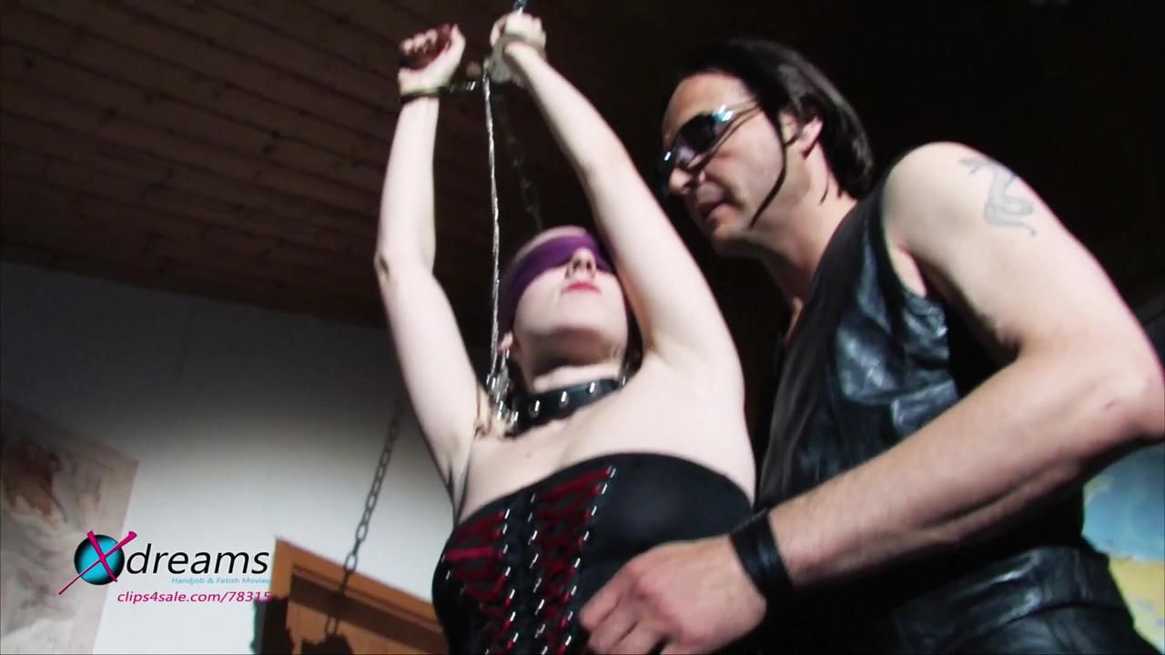 Yasemin Chained To The Ceiling