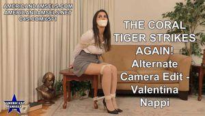 The Coral Tiger Strikes Again! - Alternate Camera Edit - Valentina Nappi