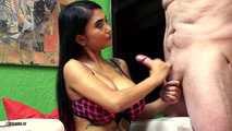 Kim XXX Cruel Ball Pressing And Ruined Orgasm Handjob