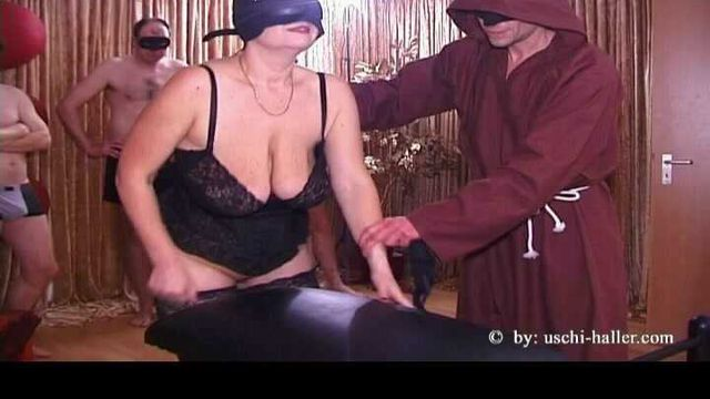 Fisting gangbang party with BBW MILF Sabine
