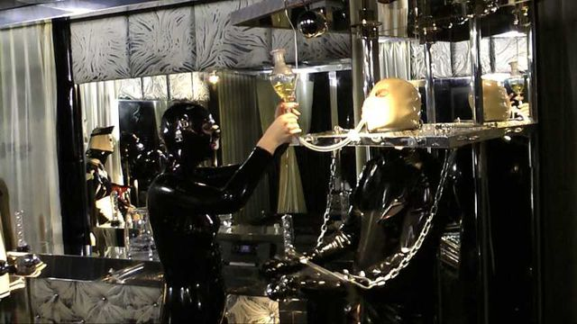Lady Minou & Kandy - Ultimate Rubber Sex (Part3)