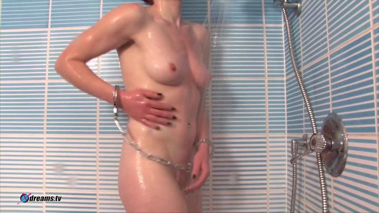 Aubrey's Shower Domination By Her Master
