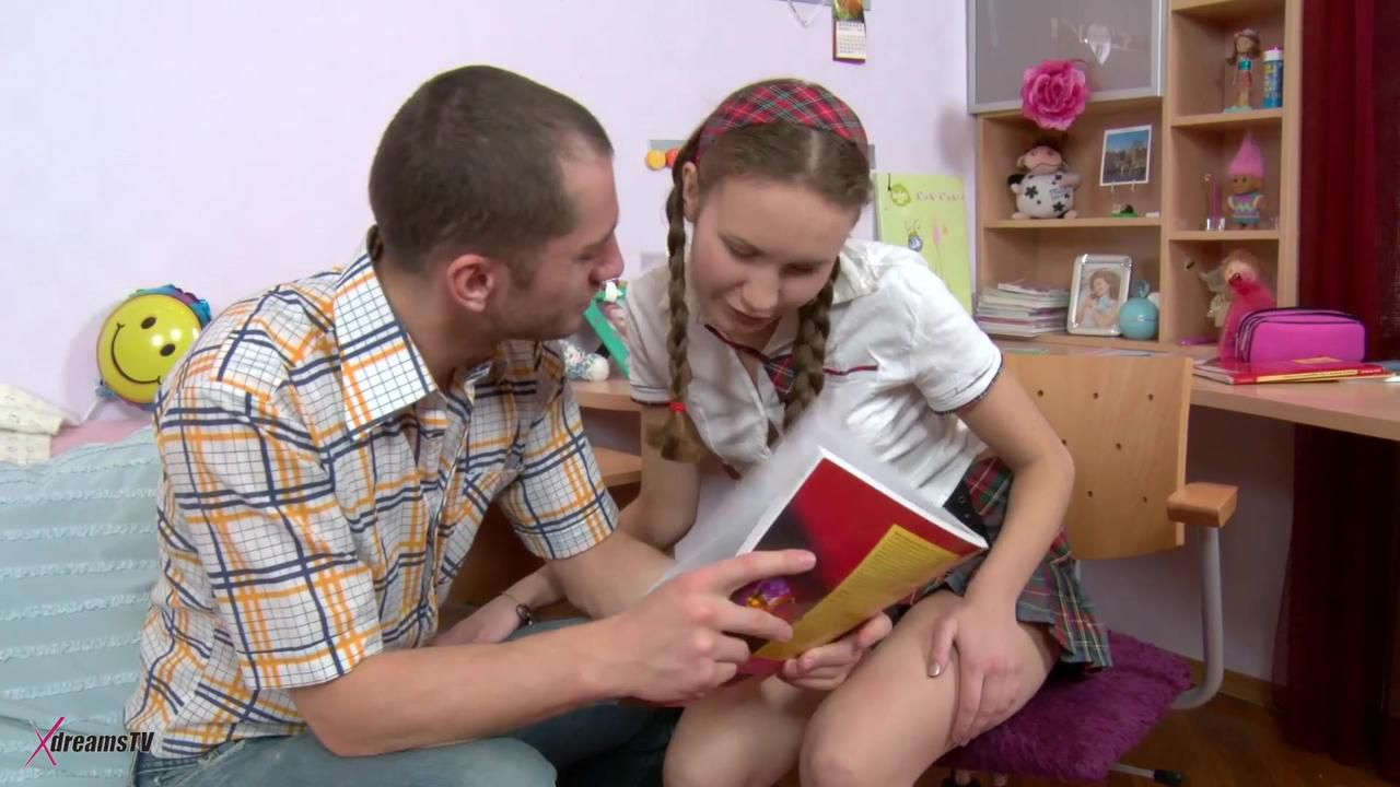 Ava - Student Wants To Feel The Lovely Pain At An Butt Fuck