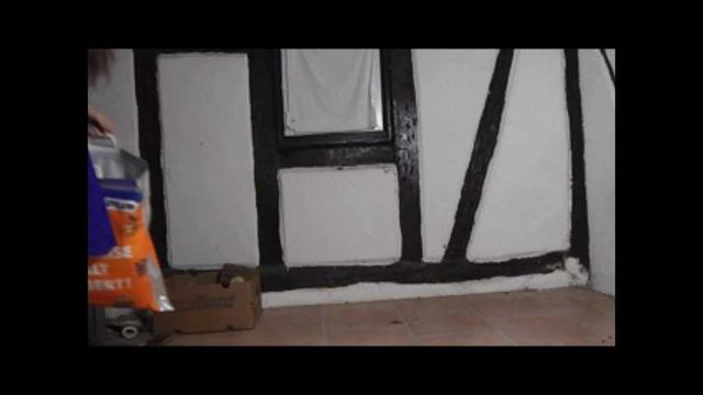 Chrush in an old house