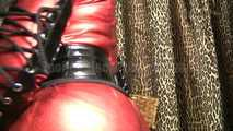 Latex Red Cock