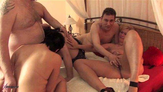 Class Reunion Ends Up In A Horny Swinger Party
