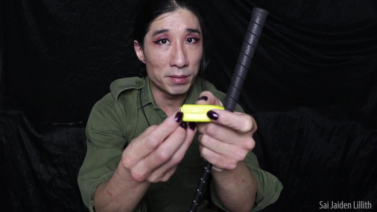 Drill Sergeant Lillith Inspection - Small Tit Humiliation (Solo)