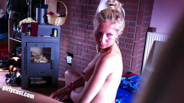 Dina's second private XXX video - BDSM