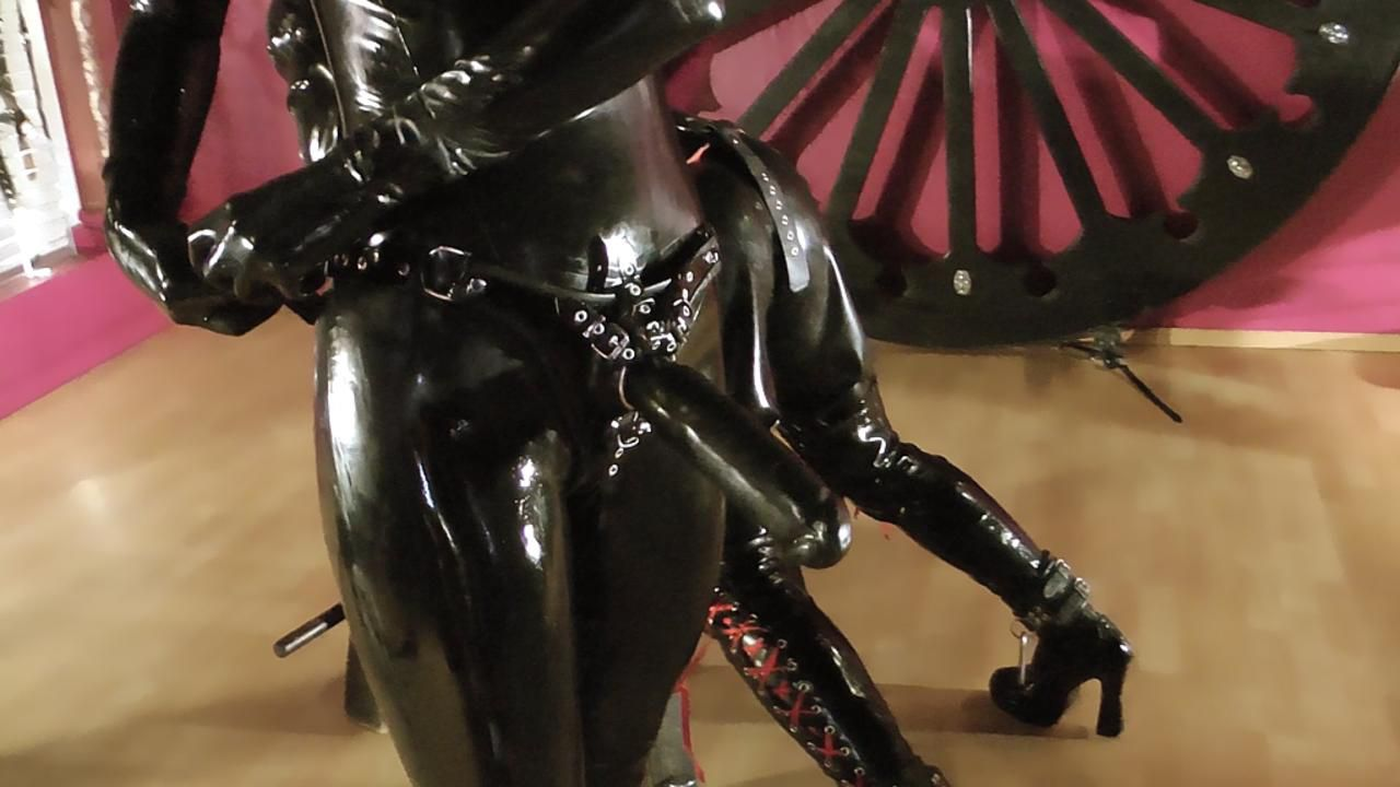 Helpless banged in Chastity