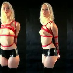 """I just made another sale of """"The initiation of Daisy Bells, Ushiro Gassho - video""""!<br /><br />This update is of a new face on Club RopeMarks, Daisy Bells.A sexy blond with a matching mindsex... set, mindset. We easy her into the traditional...<br /><br />👉http://clubropemarks.com/1061917829👈 #Shopmaker"""