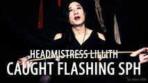 Headmistress Lillith: Caught Flashing (Small Penis Humiliation)