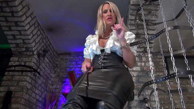 Leather Boots Cum Countdown!
