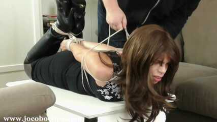 Overpowered & Hogtied