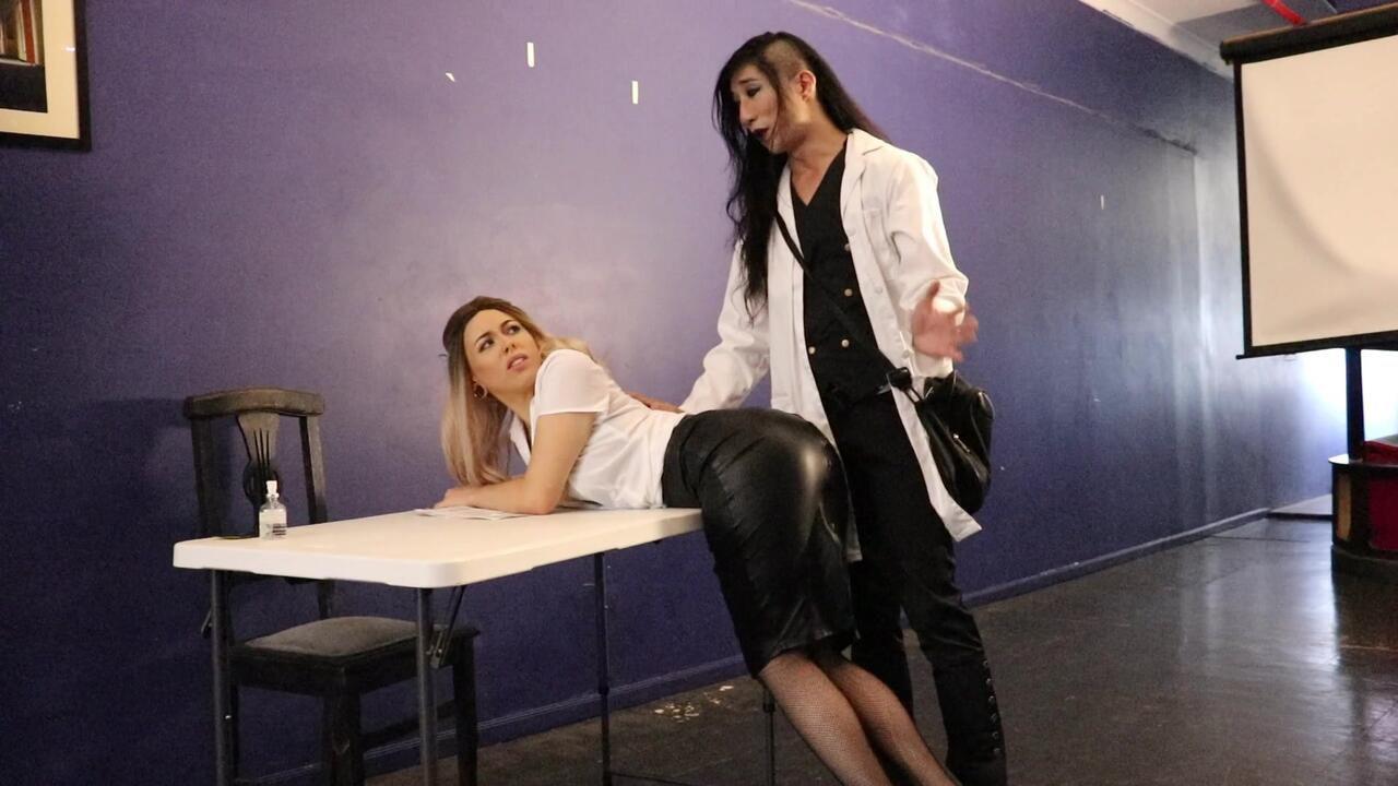 April & The Doctor Part 1 - Punishment Fuck w/Mistress Arabella