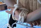 ab-063 Captive Businesswoman