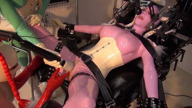 Lara Latex - Heavy Rubber Gurls Part2