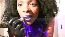 Latex blue ballls