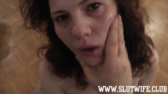 [Blow'n'Gag] Rough sloppy deepthroat: I make Carla Sky understand how to suck cock proper