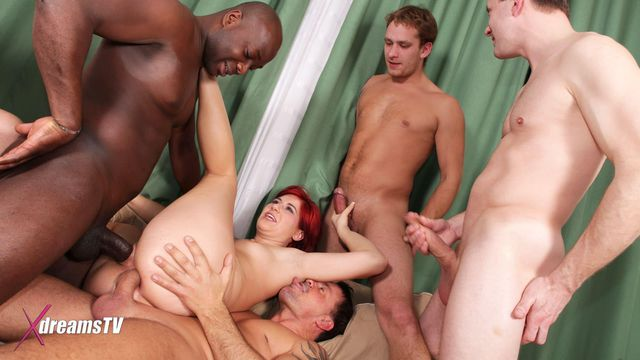 GangBang - Lucy Bell - I'm Addicted To Cocks - Episode 2