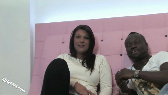 Nadjas Casting - Your first BBC while your friend watches