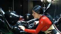 Lady Isis - Rubber Puppet Mumification