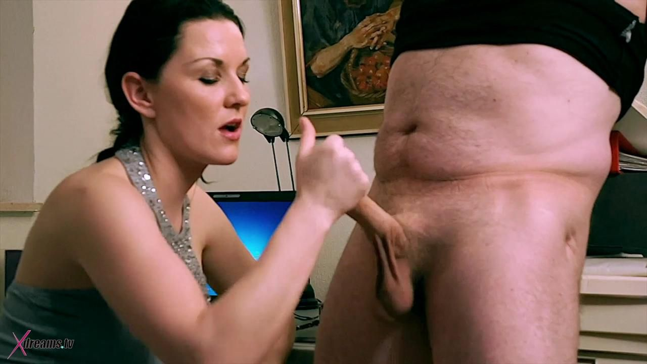 Mia Teasing Her Step-Dad By Giving Him A Ruined Orgasm