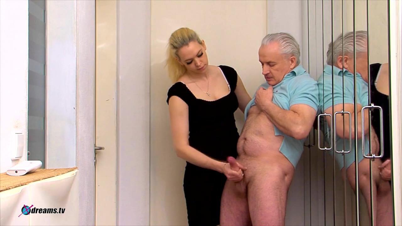 Penny's Handjob To Subdue Her Husband