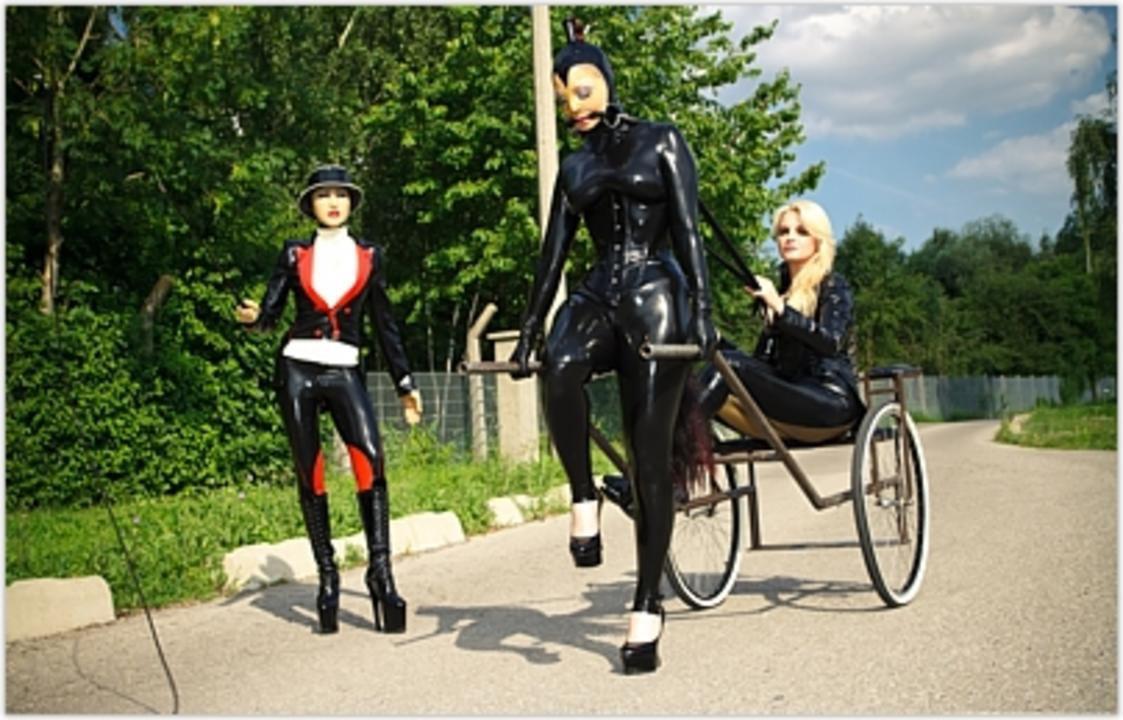 Lez Dom Entertainment - Rubber Doll Boarding School