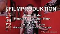 Gangbang party with Jasmin Babe in a sex cinema in Euskirch
