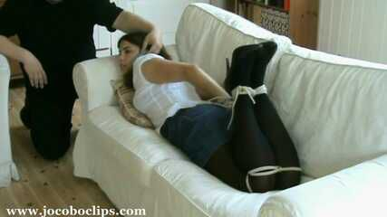 Casual Couch Hogtie