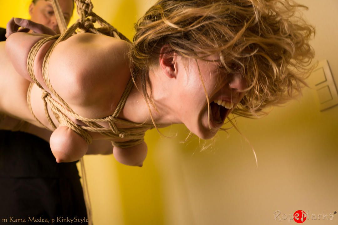 Faces of pain... and pleasure; The initiation of Kama Medea, part 2 of 2