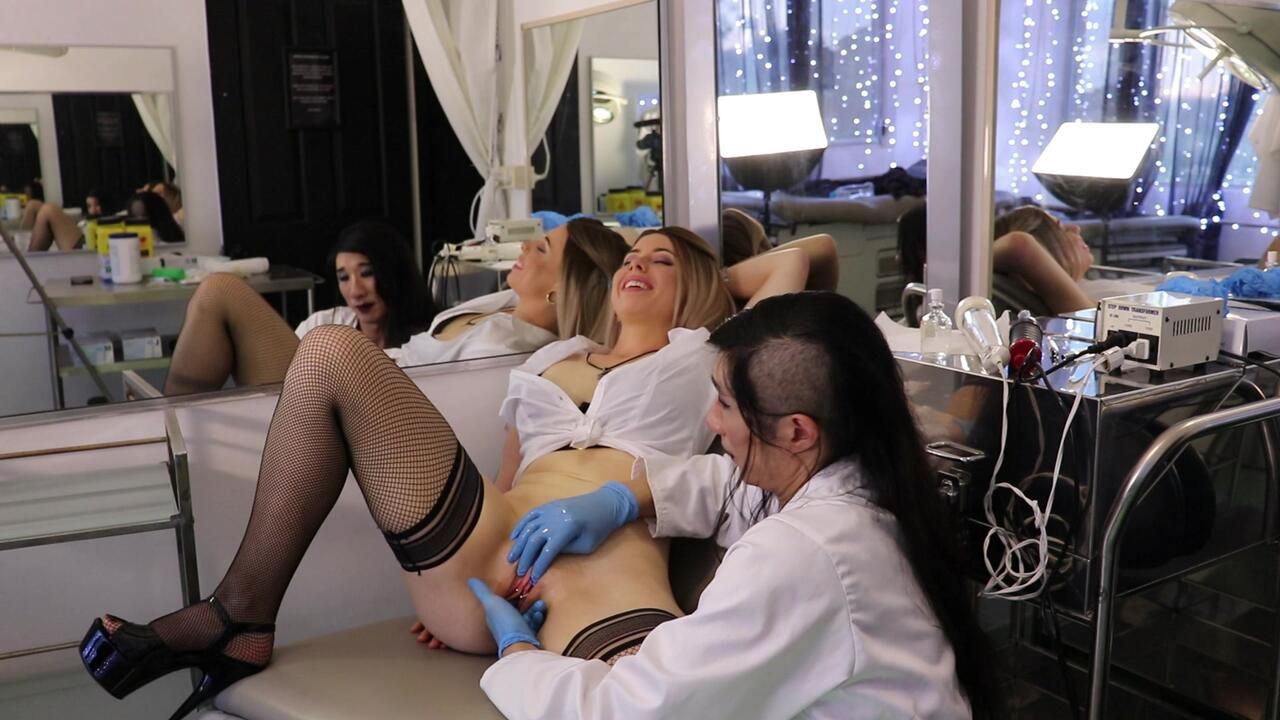 April & The Doctor Part 2 - Orgasm Procedure - w/Mistress Arabella