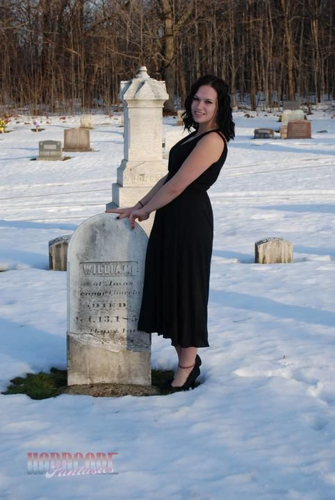 Frisky At The Cemetery