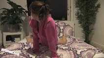 Sweet teen Jennin first fuck video. Creampie!