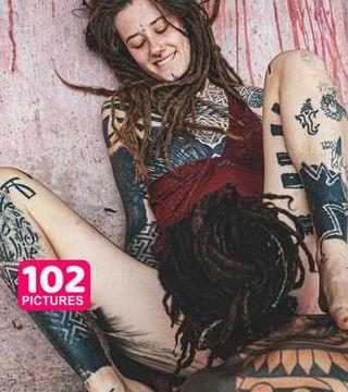 Tattoo couple have their first kinky photoshooting - PHOTOSET