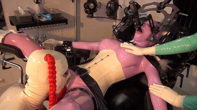 Lara Latex - Heavy Rubber Gurls Part1