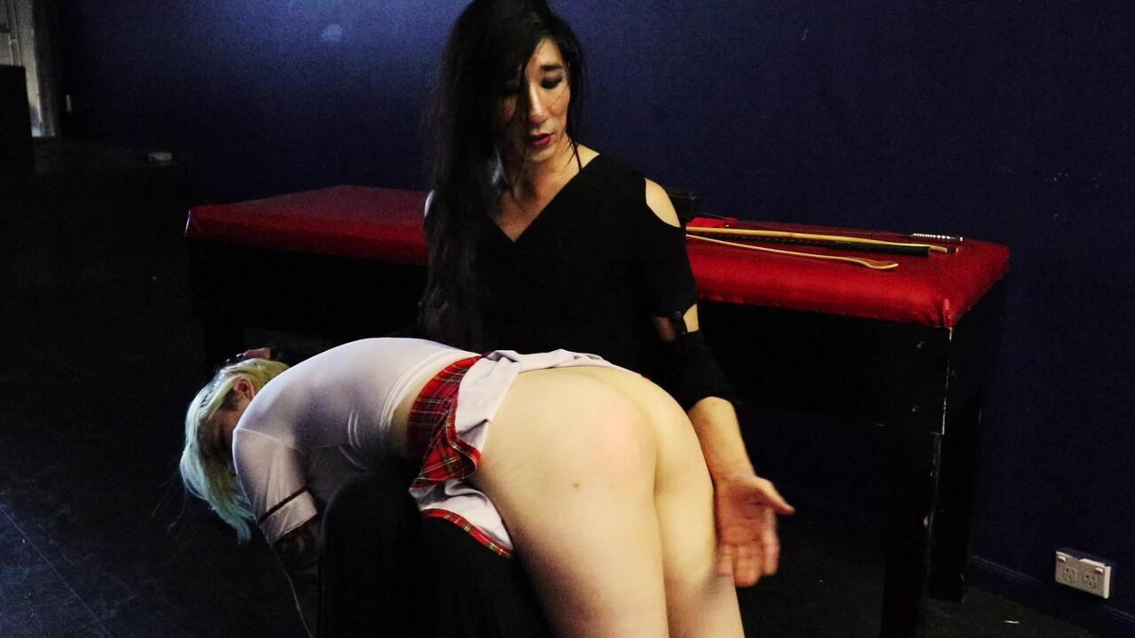 Mistress Lillith's Finishing School - Kristen's Punishment - w/Kristen Jade