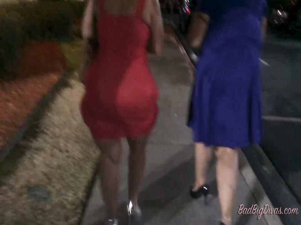 Dangerous Roadside Curves 2 Amber Conners  & Sasha Sweets Part 4