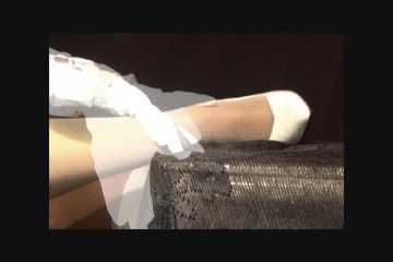 white pump foot fetish
