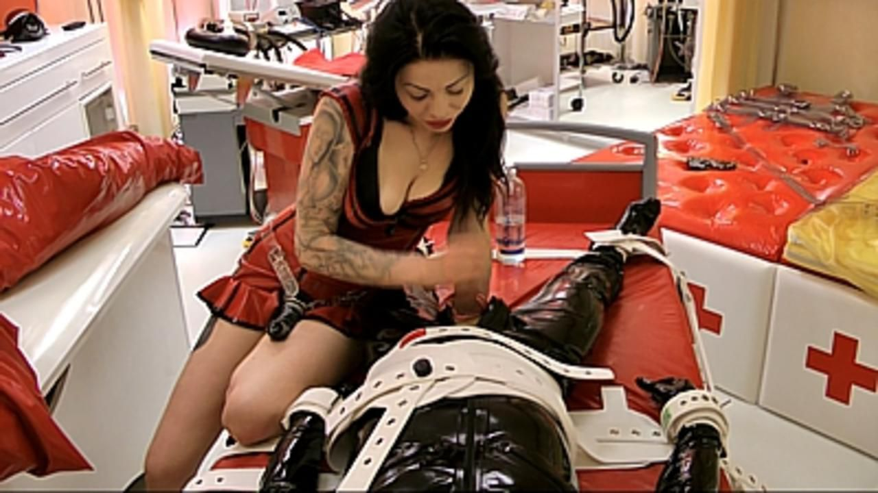 Lady Ashley - A long night Segufix Bondage